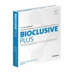 Bioclusive Transparent Film Dressing, 4 x 4-3/4 in