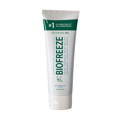 Biofreeze Classic Colorless Tube - 3oz