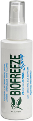 Biofreeze Spray - 4 oz # BUSASN04-001