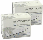 Bionime Rightest GS100 Blood Glucose Test Strips - 100 Strips