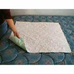 Birdseye Underpad 24 x 26 in Reusable Cotton Moderate Absorbency