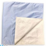 Birdseye Underpad 34 x 36 in Reusable Cotton Moderate Absorbency