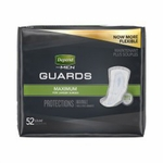 Depend Guards for Men Bladder Control Pad 12 Inch Length Heavy Absorbency Absorb-Loc Male Disposable - Case of 104