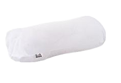Body Sport Cover for Cervical Roll Pillow White Cotton