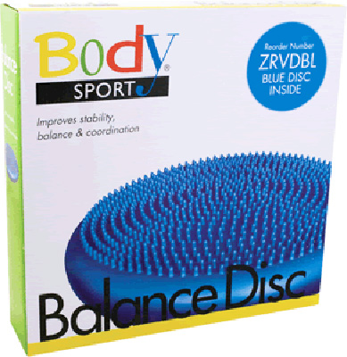 Body Sport Balance Disc ZRVDBL Blue 13.5 in Diameter