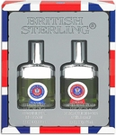 British Sterling 2 Piece Gift Set - Cologne Spray (2.5 oz) & After Shave (2.5 oz)