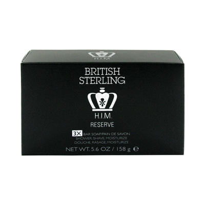 British Sterling H.I.M. - Reserve - 5.6 oz Soap Bar