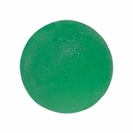 CanDo Gel Hand Exercising Ball - Green - Medium - 10-1493 - 6 packs