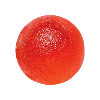 CanDo Gel Hand Exercising Ball - Red - Soft - 10-1492 - 6 packs