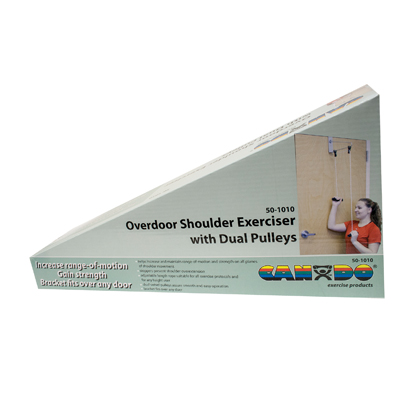 CanDo Over Door Shoulder Dual Pulley Exerciser - Bracket - 50-1010