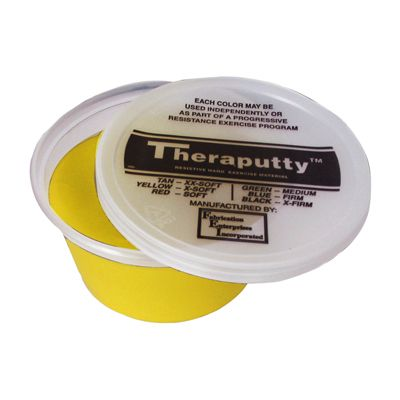 CanDo Theraputty Hand Exercising Putty - Yellow - 2oz 10-0900
