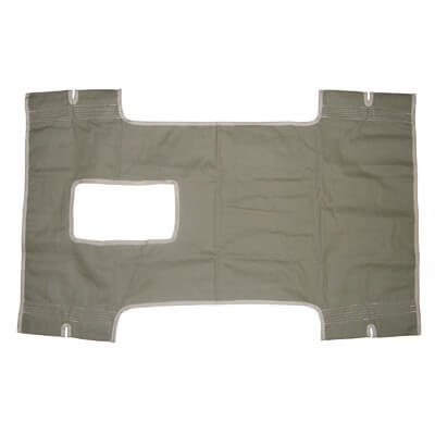 Drive Medical Canvas Patient Lift Sling with Commode Cutout 13014