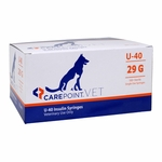 CarePoint Vet U-40 Sryinges