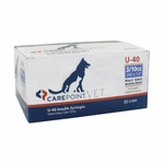 CarePoint Vet U-40 Syringes - 29 G 0.3 cc 1/2 in