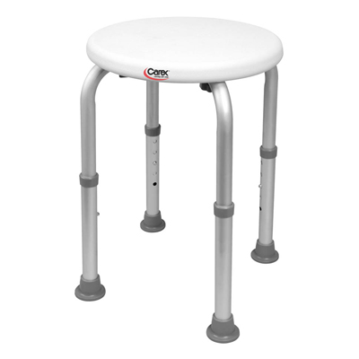Carex Compact Round Shower Stool B600Tf