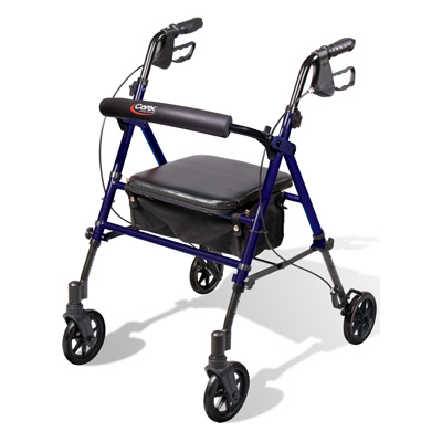 Carex Step 'N Rest® Rolling Walker