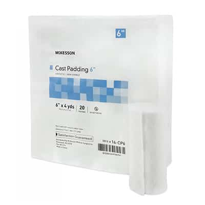 Cast Padding McKesson 6 Inch X 4 Yard Polyester NonSterile