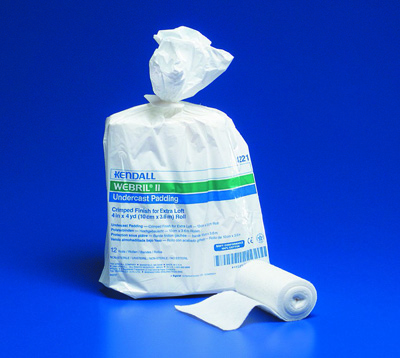 Cast Padding Undercast Webril II 2 Inch X 4 Yard Cotton NonSterile