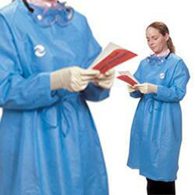 Chemotherapy Procedure Gown ChemoPlus Large Unisex NonSterile Blue - Case of 30
