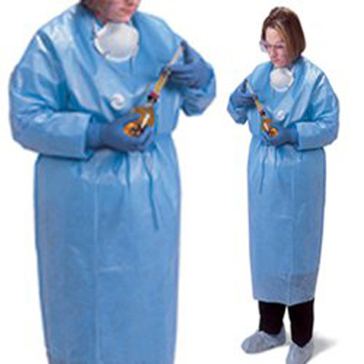 Chemotherapy Procedure Gown ChemoPlus X-Large Unisex NonSterile Light Blue - Case of 24