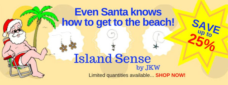 Save on island sense jewelry for gifts