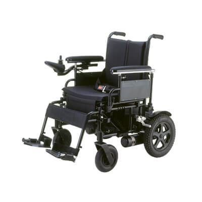 Drive Medical Cirrus Plus 16 inch Folding Power Wheelchair cpn16fba