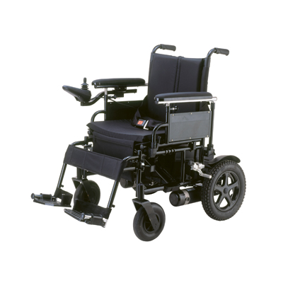 Cirrus Plus EC Folding Power Wheelchair, 24 in Seat