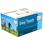 Clearance Easy Touch 30 Gauge 0.5 cc 1/2 in Insulin Syringes - 100 ea - Expires 10/2019