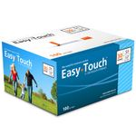 Clearance Easy Touch 30 Gauge 0.5 cc 1/2 in Insulin Syringes - 100 ea Expires 8/2019