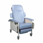Drive Medical Clinical Care Blue Ridge Geri Chair Recliner Model d577-br