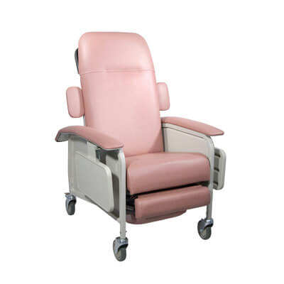Drive Medical Clinical Care Rosewood Geri Chair Recliner Model d577-r