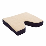 Coccyx Seat Cushion, Foam - 16 x 18 x 3 in - N1008