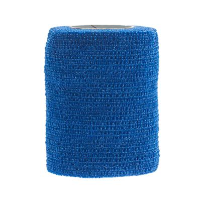 CoFlex Med Cohesive Bandage 3 Inch X 5 Yard Standard Compression Self-adherent Closure Blue NonSterile - Case of 24