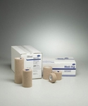 Cohesive Bandage Medi-Rip 4 Inch X 5 Yard Standard Compression Self-adherent Closure Tan NonSterile