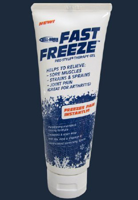 Cold Therapy Pain Relief Fast Freeze 10% Strength Menthol� Gel 4 oz.