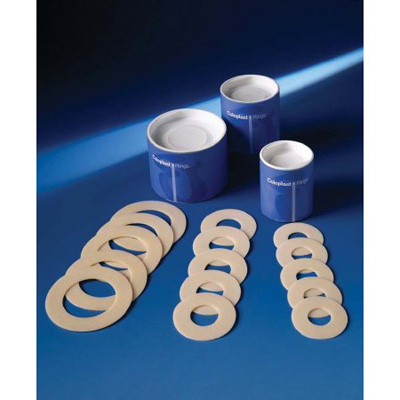 Coloplast Skin Barrier Pre-Cut Solid Hydrocolloid 1 in Stoma