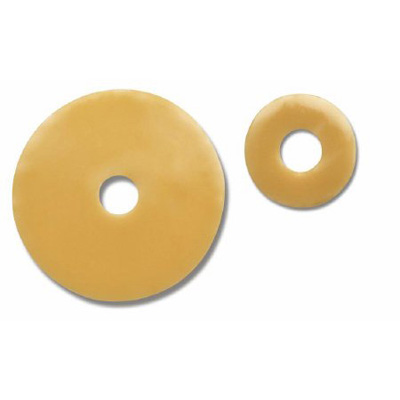 Colostomy Barrier SoftFlex Pre-Cut, Standard Wear Without Tape Universal Size Flange Not Coded Hydrocolloid 13/16 Inch Stoma
