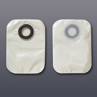 Colostomy Pouch Karaya 5 One-Piece System 12 Inch Length 1-1/8 Inch Stoma Closed End