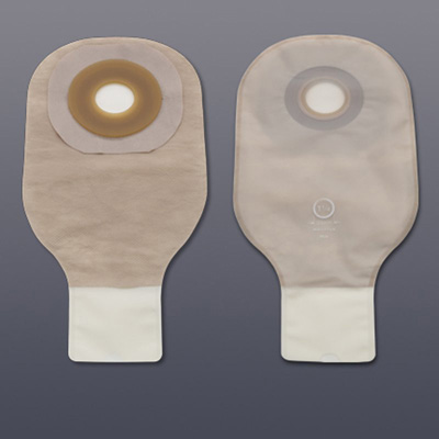 Colostomy Pouch Premier Flextend One-Piece System 12 Inch Length 1-3/4 Inch Stoma Drainable Pre-Cut