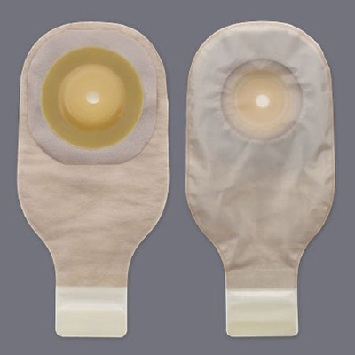 Colostomy Pouch Premier Flextend One-Piece System 12 Inch Length Up to 2 Inch Stoma Drainable Trim To Fit