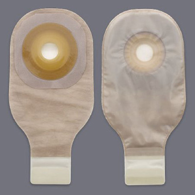 Colostomy Pouch Premier One-Piece System 12 Inch Length 1 Inch Stoma Drainable
