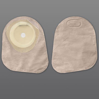 Colostomy Pouch Premier One-Piece System 7 Inch Length 1-3/8 Inch Stoma Closed End