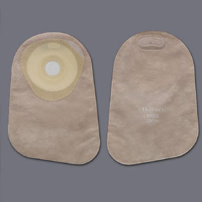 Colostomy Pouch Premier One-Piece System 9 Inch Length 1-3/8 Inch Stoma Closed End