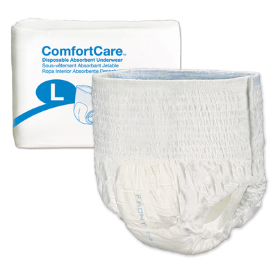 ComfortCare Disposable Absorbent Underwear - Large - 2976-100