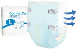 ComfortCare Disposable Briefs - Large - 2966-100 100 /cs (4 bags of 25)
