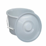 Commode Pail with Lid