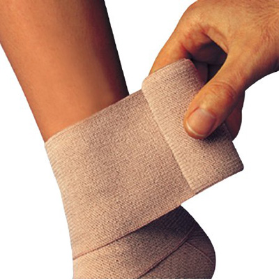 Compression Bandage Comprilan 4-7/10 Inch X 5-1/2 Yard Standard Compression Clip Detached Closure Tan NonSterile