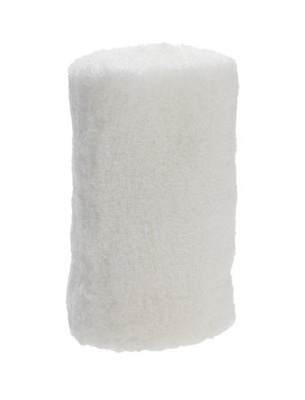 Conforming Bandage Dermacea Cotton / Polyester 4 Inch X 4-1/10 Yard Roll Sterile