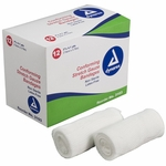 Dynarex Conforming Bandage Polyester 3 Inch X 4-1/10 Yard Roll NonSterile - Case of 96