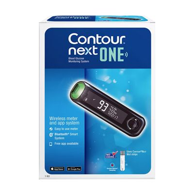 Contour Next One Blood Glucose Meter With Bluetooth Otc Wholesale